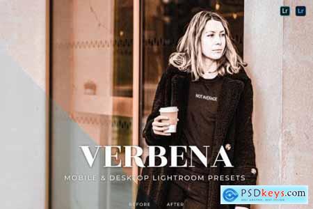 Verbena Mobile and Desktop Lightroom Presets