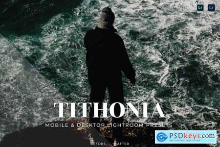 Tithonia Mobile and Desktop Lightroom Presets