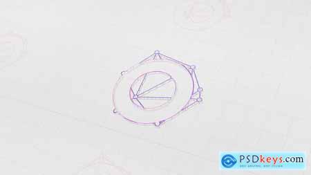Drawing paper logo reveal 28999745