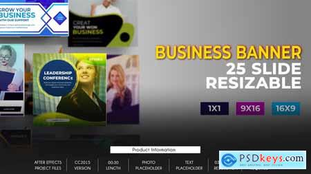25 Business Banner Ad B80 32651312