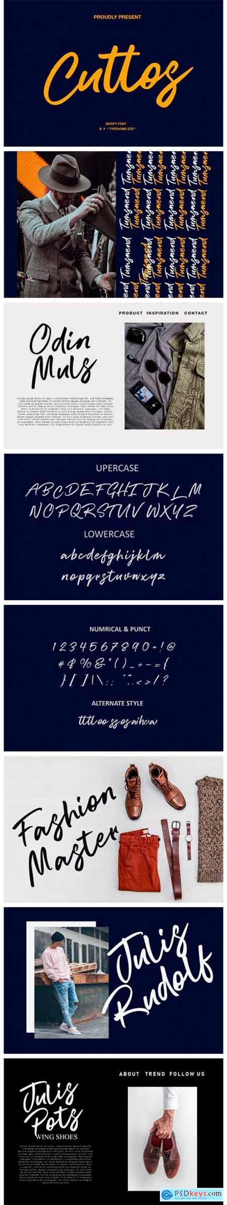 Cuttos Font