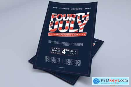 USA Independence Day - Flyers Design