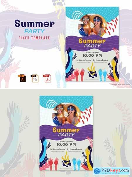 Summer Party Flyer Template Vol.02