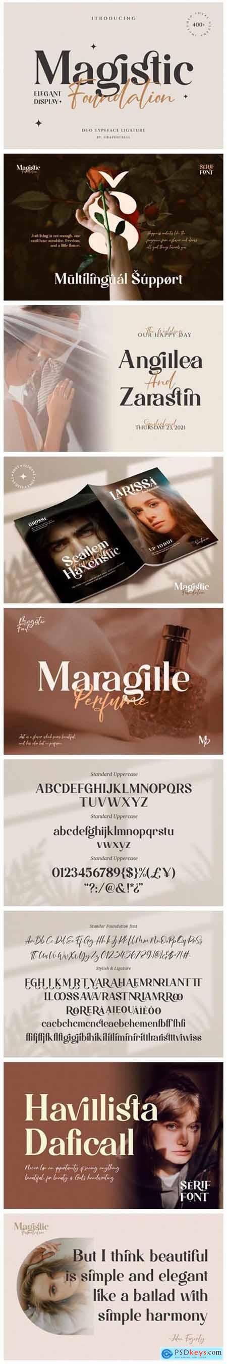 Magistic Foundation Font