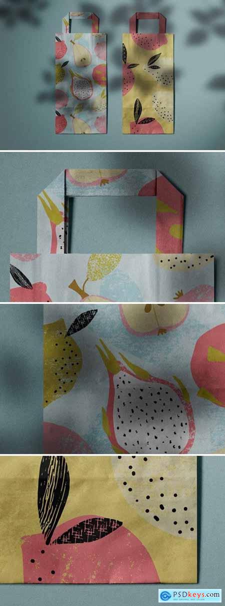Paper Bag Mockup DKAVDZ5