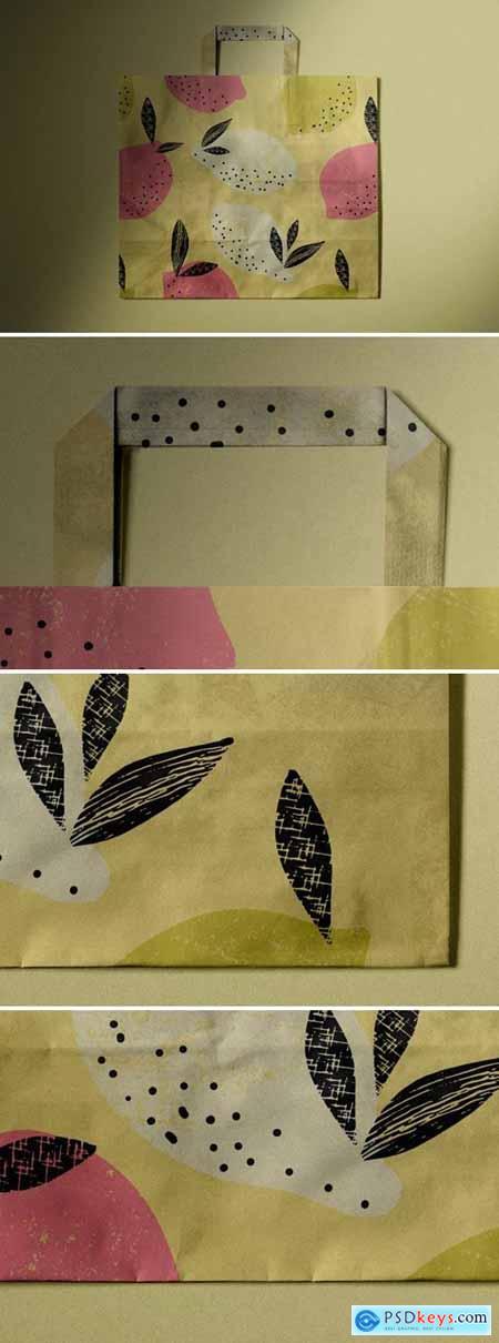 Paper Bag Mockup JLT96N5