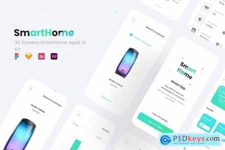 Smarthome - Smarthome Apps UI Kit