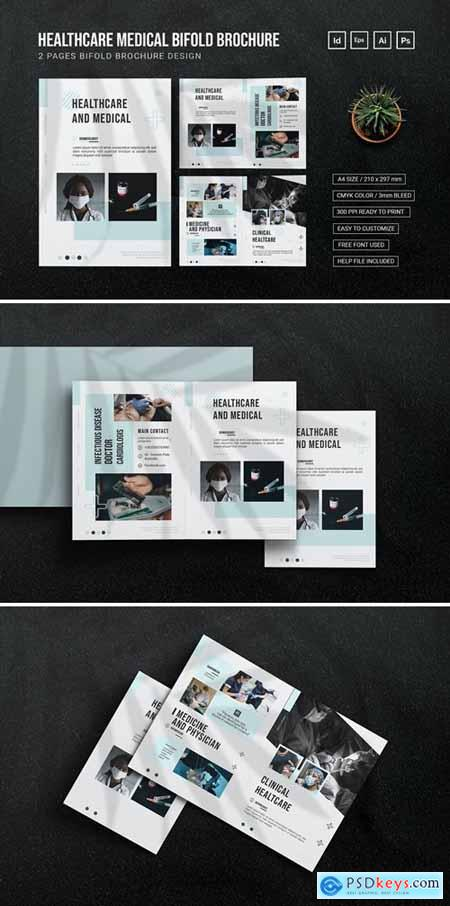 Healthcare and Medical - Bifold Brochure
