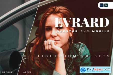 Evrard Desktop and Mobile Lightroom Preset