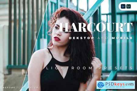 Harcourt Desktop and Mobile Lightroom Preset