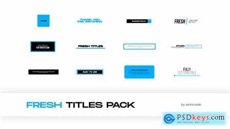 Fresh Titles for Premiere Pro 32568863
