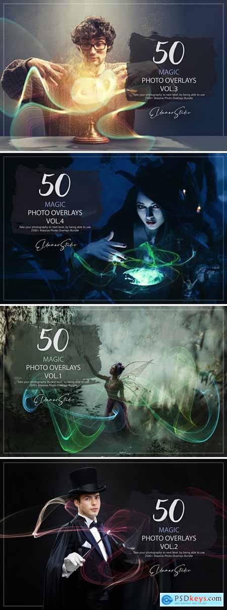 Magic Photo Overlays Bundle