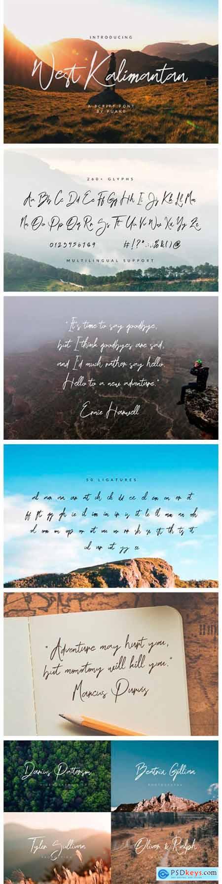 West Kalimantan Font