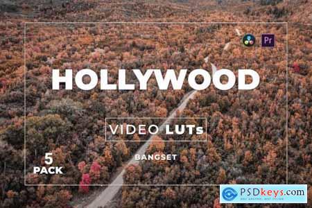 Bangset Hollywood Pack 5 Video LUTs