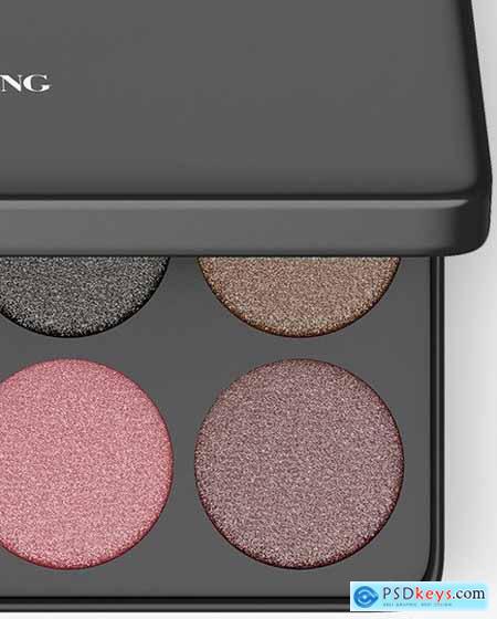 Eyeshadow Palette Mockup 84770
