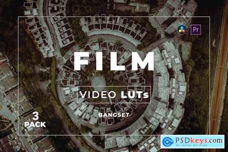 Bangset Film Pack 3 Video LUTs