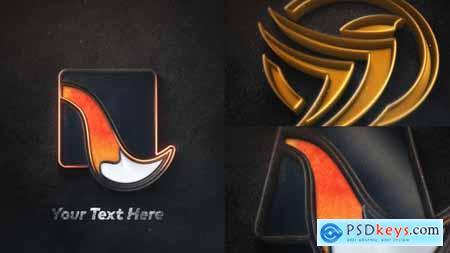 Epic 3D Metal Logo Intro 31688194