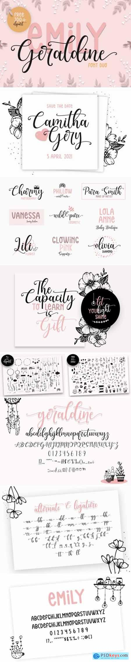 Emily Geraldine Font
