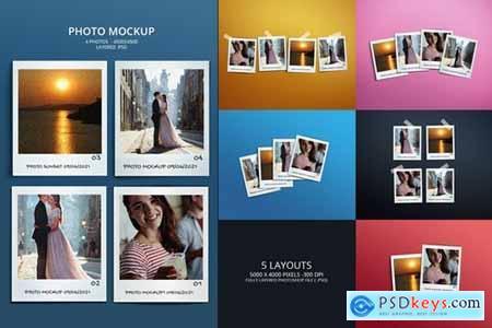 Photo Mockups - Polaroid Photo