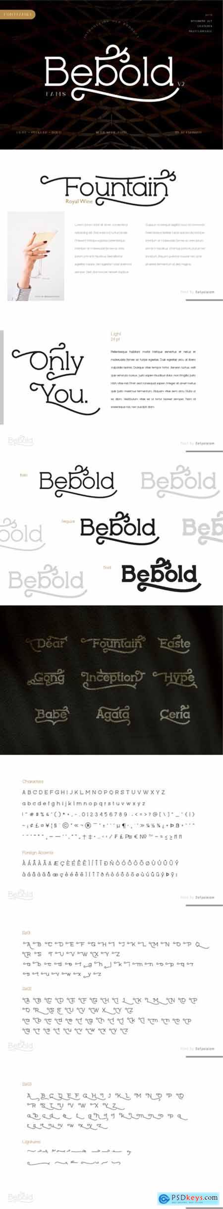 Bebold Font