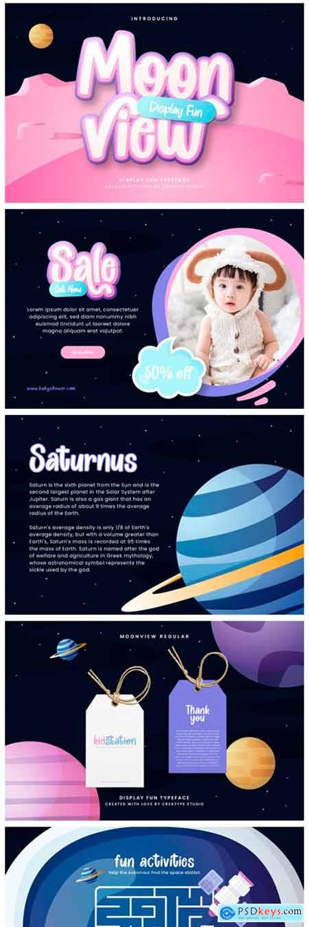 Moon View Font