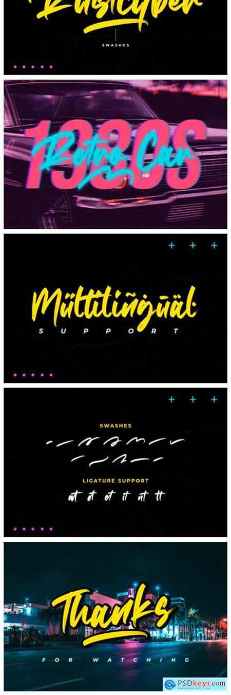 Rustcyber Font