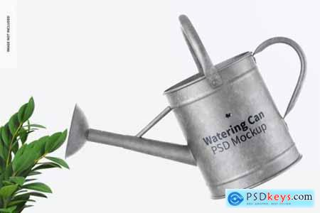 Watering cans mockup
