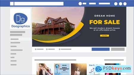 Real Estate Facebook Cover 32796672