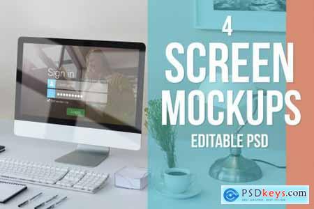 Screen Mockup Set