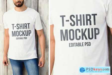 T-shirt Mockup Set YJVFJCQ7