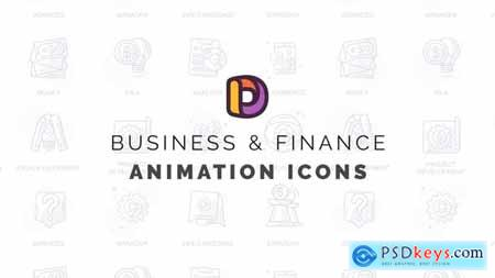 Business & Finance - Animation Icons 32812162