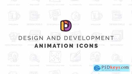 Design and development - Animation Icons 32812189