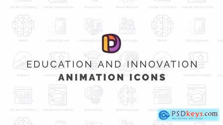 Education - Animation Icons 32812279