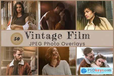 50 Vintage Photo Overlay 6242200