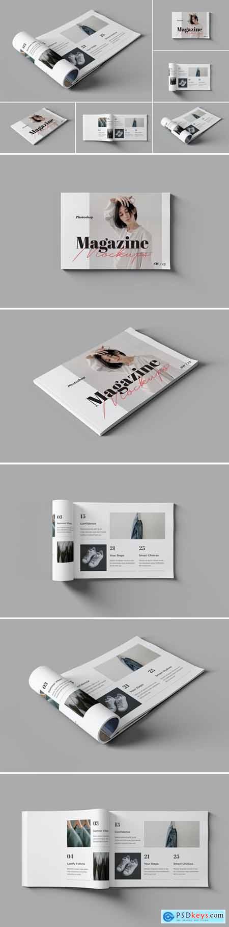 Landscape Magazine - Book Mockups