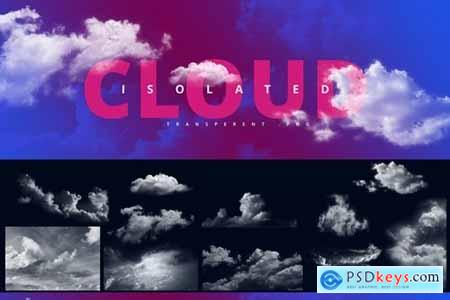 Clouds Set - Transparent Clouds