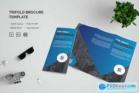 Business - Trifold Brochure