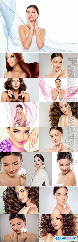 Lovely women stock photo