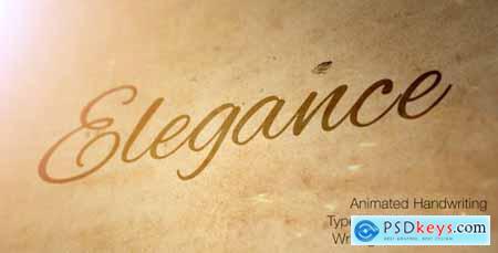 Elegance - Animated Handwriting Typeface 6903346