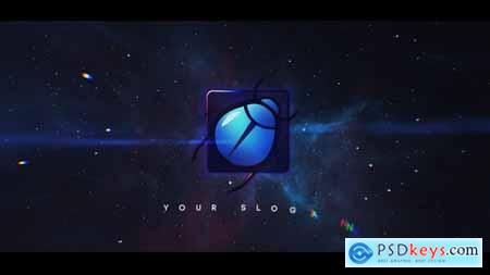 Space Logo Reveal 32905068