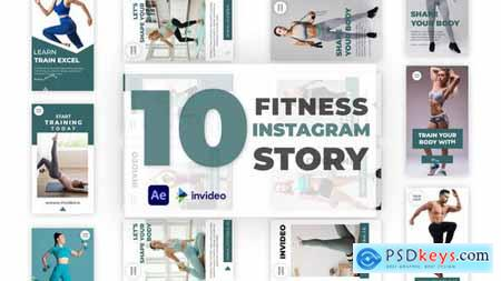 Fitness Instagram Story Pack 32928826