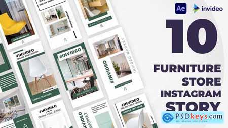Furniture Store Instagram Stories Template 32928764