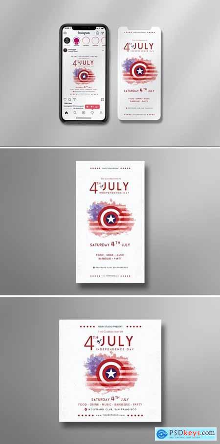 4th of July - Instagram Set