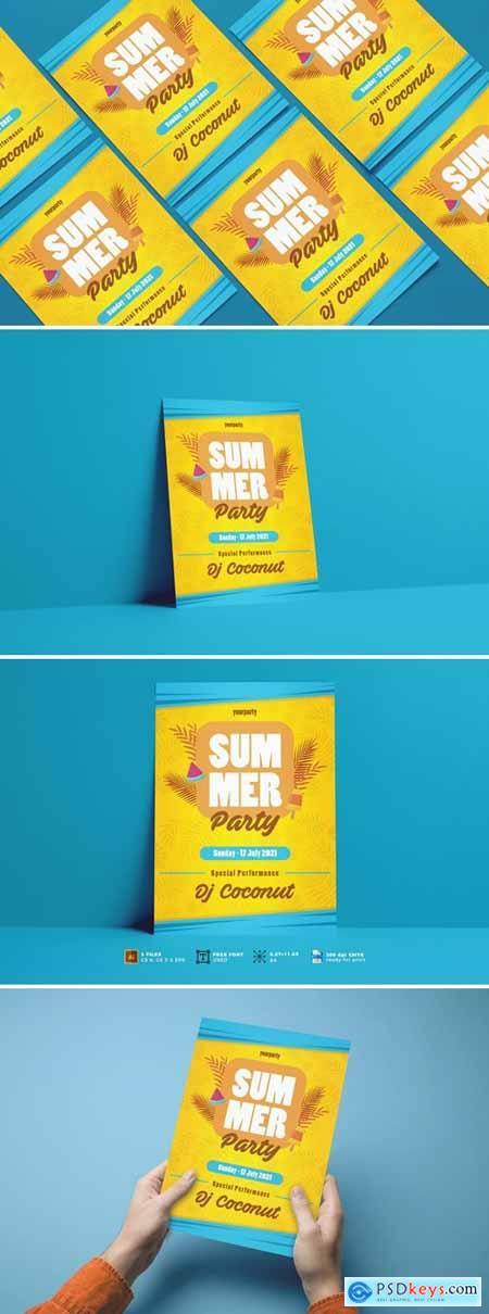 Summer Party Flyer Vol.01