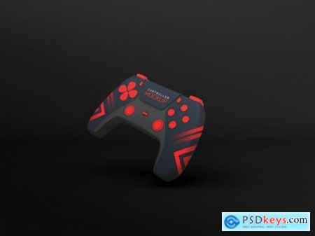 Gaming controller mockup