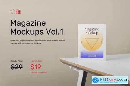 Magazine Mockups Vol.1 6264182