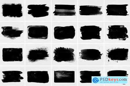 Watercolor rectangles photo masks 5924332