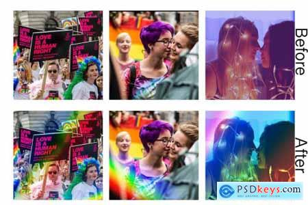 Rainbow Overlays 6216550