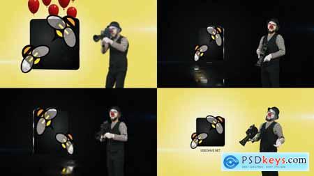 Clown Logo 2 23630053