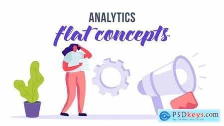Analytics - Flat Concept 32951456
